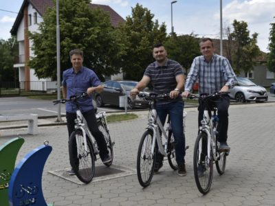 Zajednici športskih udruga Grada Belog Manastira dodijeljeni e-bicikli
