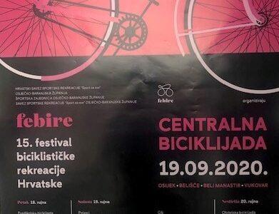Pozivamo Vas na 15. festival biciklističke rekreacije Hrvatske