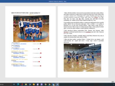 Završeno Državno prvenstvo u mini i maloj odbojci – ŽOK Baranja – djevojčice